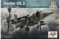 Harrier GR.3 (ITALERI 1401) 1/72