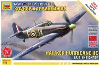 Hawker Hurrikane IIC (ZVEZDA 7322) 1/72
