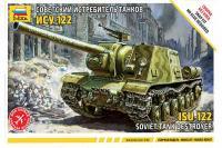 ИСУ-122 (ZVEZDA 5054) 1/72