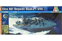 Elco 80 Torpedo Boat PT-596 (ITALERI 5602) 1/35