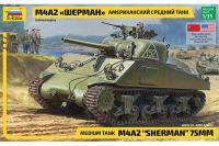 M4A2 Sherman (ZVEZDA 3702) 1/35