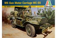 M6 GUN MOTOR CARRIAGE WC-55 (ITALERI 6555) 1/35