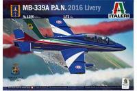MB-339A P.A.N. 2016 Livery (ITALERI 1380) 1/72