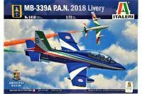 MB-339A P.A.N. 2018 Livery (ITALERI 1418) 1/72