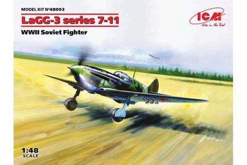 ЛаГГ-3 серія 7-11 (ICM 48093) 1/48