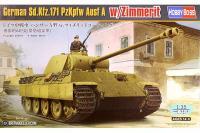 Sd.Kfz.171 PzKpfw Ausf A з циммерітом (Hobby Boss 84506) 1/35