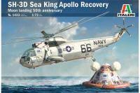 SH-3D Sea King Apollo Recovery (ITALERI 1433) 1/72