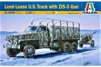 Studebaker US6 з гарматою ЗІС-3 (ITALERI 6499) 1/35
