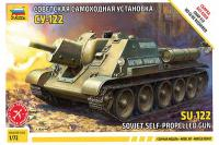 СУ-122 (ZVEZDA 5043) 1/72