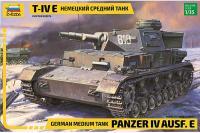Т-IV E Німецький танк (ZVEZDA 3641) 1/35