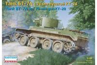 Танк БТ-7А з 76мм гарматою КТ-28 (Eastern Express 35114) 1/35