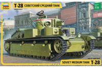 Т-28 (ZVEZDA 3694) 1/35