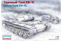 Тяжкий танк КВ-1С (Eastern Express 35100) 1/35