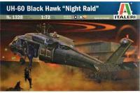 """UH-60 Black Hawk """"Night Raid"""" (ITALERI 1328) 1/72"""