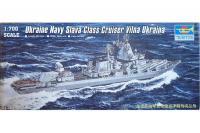 """Український крейсер класу """"Атлант"""" Вільна Україна (Trumpeter 05723) 1/700"""