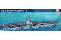 U.S.S. RONALD REAGAN (ITALERI 5533) 1/720