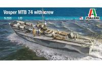 Vosper MTB 74 з екіпажем (ITALERI 5624) 1/35