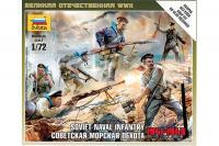 Радянська морська піхота 1941-1943 (ZVEZDA 6146) 1/72