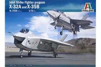 JSF Program X-32A and X-35B (ITALERI 1419) 1/72