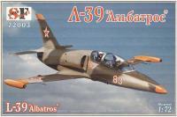 """Сборная модель - учебно-тренировочный самолет Aero L-39 """"Albatros"""" (South Front 72003) 1/72"""