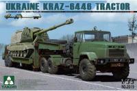 КРАЗ-6446 с полуприцепом ЧМЗАП-5247Г (Takom 2019) 1/35