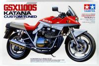 Сборная модель - Спортивный мотоцикл Suzuki GSX1100S Katana 'Custom Tuned' (TAMIYA 14065) 1/12