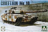 Сборная модель - Chieftain Mk.10 Британский основной боевой танк (Takom 2028) 1/35