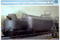 German Armored Train PanzerTriebwagen Nr.16 (Trumpeter 00223) 1/35