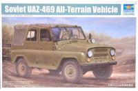 Сборная модель - УАЗ-469 Советский вездеход  /  UAZ-469 Soviet All-Terrain Vehicle (TRUMPETER 02327) 1/35