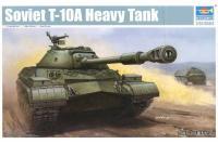 Сборная модель - Т-10А советский тяжелый танк / Soviet T-10A Heavy Tank (TRUMPETER 05547) 1/35