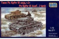 Pz.Kpfw.III Ausf.J (1/72) UNIMODELS 271