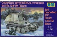 Sd.Kfz.138 / 1 Bison (UNIMODELS 346) 1/72