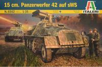 15 cm. Panzerwerfer 42 auf sWS (ITALERI 6562) 1/35
