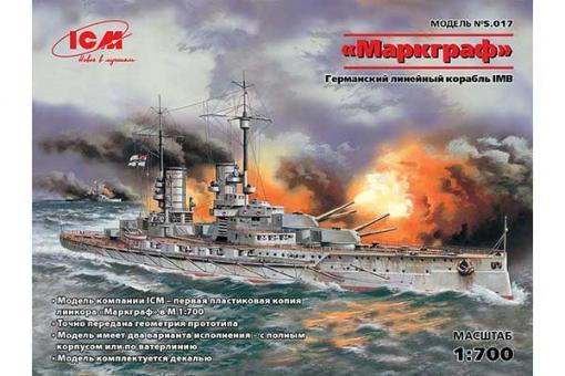 «Маркграф» (ICM S.017) 1/700
