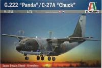 """G.222 Panda / C-27A """"Chuck"""" (ITALERI 1311) 1/72"""