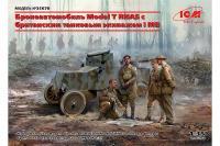 Model T RNAS з британським танковим екіпажем I СВ (ICM 35670) 1/35