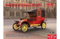 Паризьке таксі Тип AG 1910 р (ICM 24030) 1/24