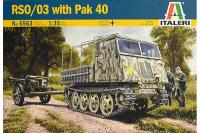 RSO/03 з PAK 40 (ITALERI 6563) 1/35