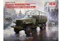 Studebaker US6 з радянськими водіями II СВ (ICM 35510) 1/35