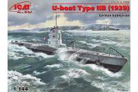 U-Boat Type IIВ (1939 р.) (ICM S.009)