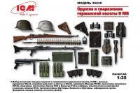 Озброєння і спорядження німецької піхоти II СВ (ICM 35022) 1/35