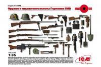Зброя та спорядження піхоти Німеччини 1СВ (ICM 35678) 1/35