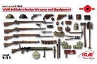 Зброя та спорядження піхоти Великобританії 1СВ (ICM 35683) 1/35