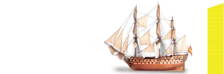 Дерев'яні моделі кораблів Artesania Latina